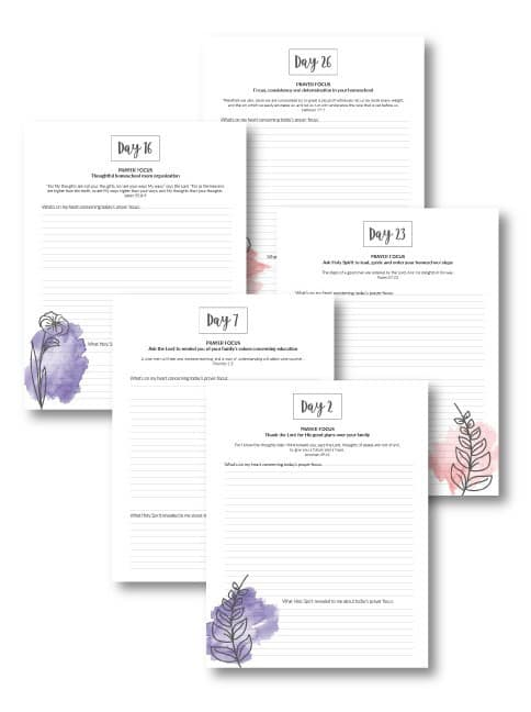picture relating to Printable Prayer Journal known as Homeschool Prayer Magazine Printables - Homeschool Printables
