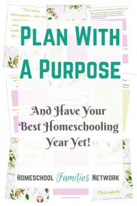 Homeschool Planning Journal