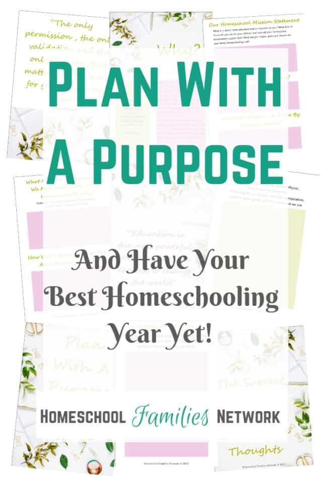 Homeschool Planning Journal