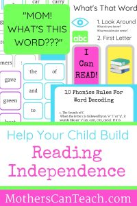 Free Reading Independence Pack