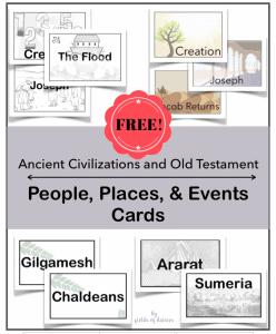 Ancient Civilizations Printable Cards