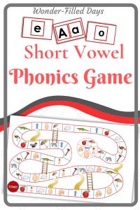 Short Vowel Phonics Game