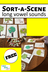 Long Vowel Sorting Mats