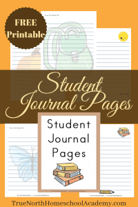 Free Student Journal Pages