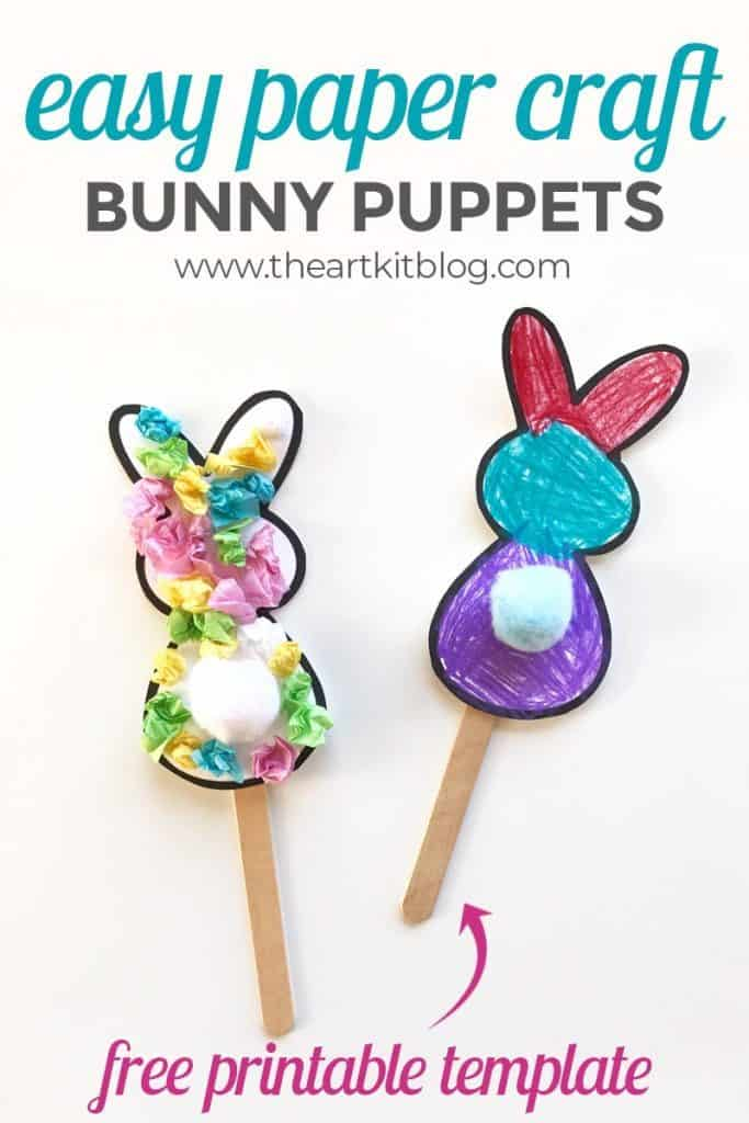Free Bunny Puppet Templates