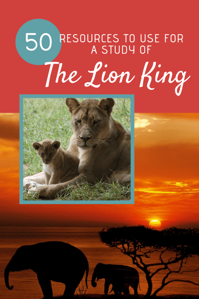Lion King Movie Study Printable Pack