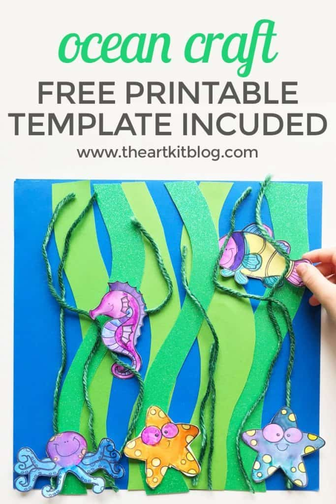 image about Free Printable Ocean Pictures called Free of charge Printable Ocean Craft - Homeschool Printables for No cost