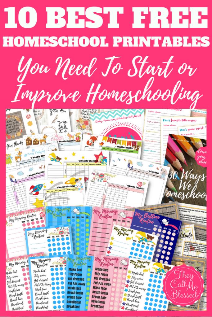 Getting Started Homeschool Bundle