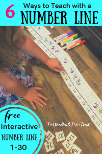 Giant Interactive Number Line