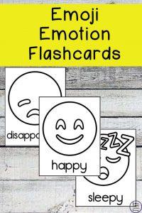 Free Emoji Emotions Flashcards