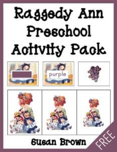 Raggedy Ann Preschool Pack