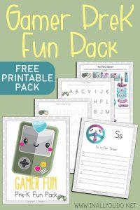 Gamer Preschool Pack