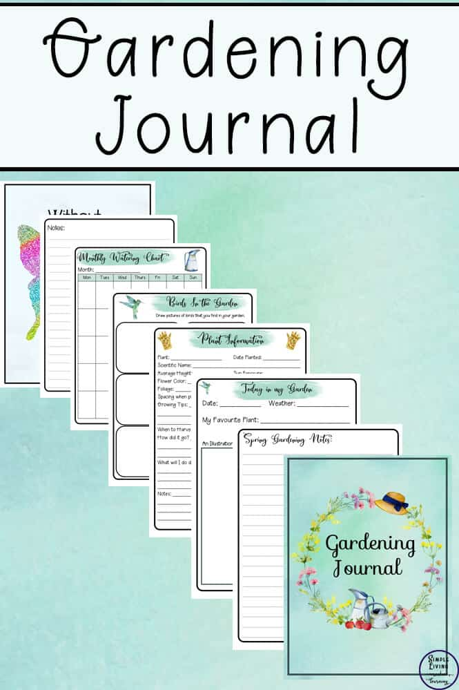 picture regarding Printable Garden Journal named Printable Gardening Magazine - Homeschool Printables for No cost