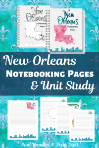 New Orleans Notebooking Pack
