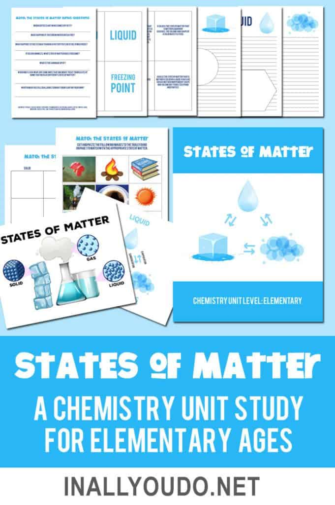 States of Matter Elementary Pack