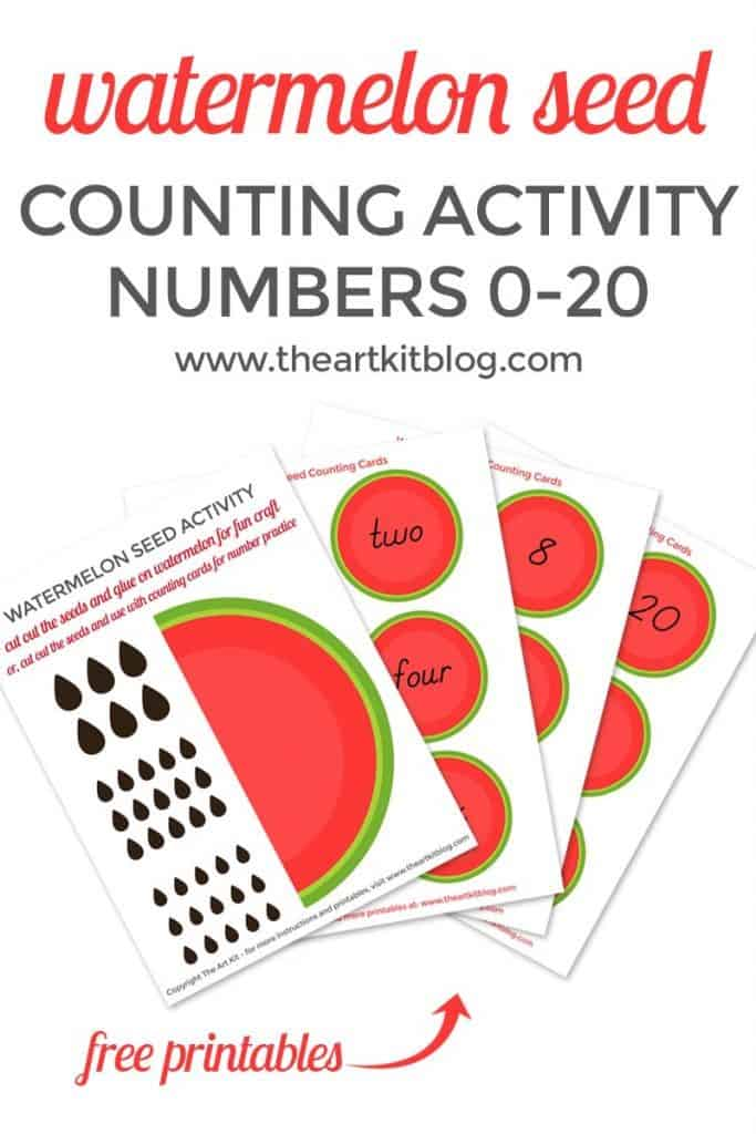 Watermelon Seed Counting Activity