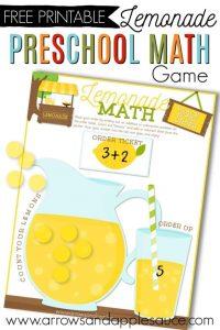 Lemonade Math Game