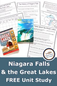 Niagara Falls and the Great Lakes Unit Study