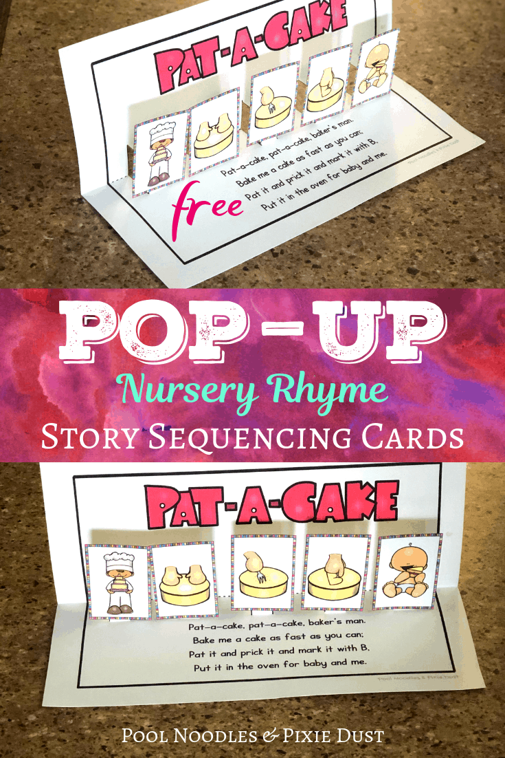 Pat-A-Cake Pop-Up Sequencing Activity