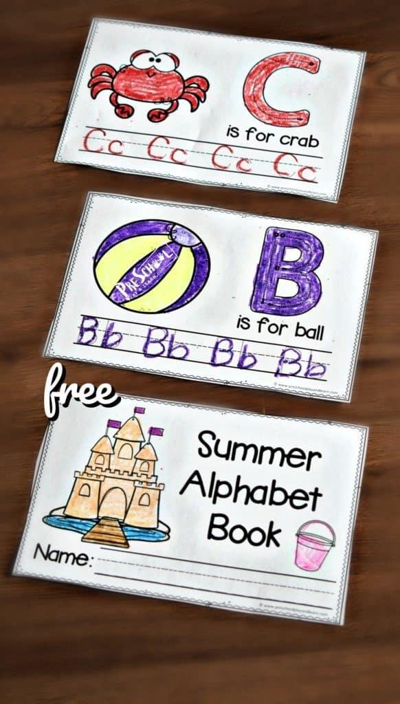 Summer Handwriting Book