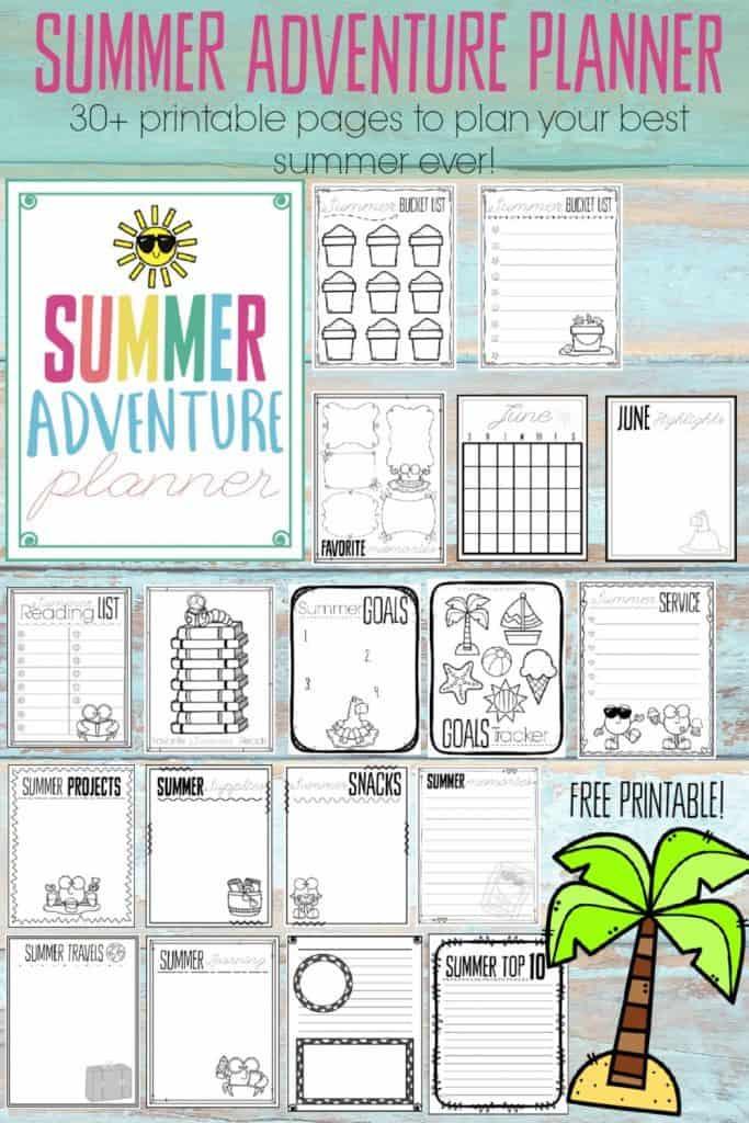 Summer Adventure Planner