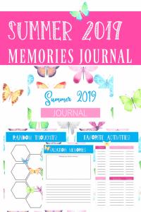 Summer Memory Journal