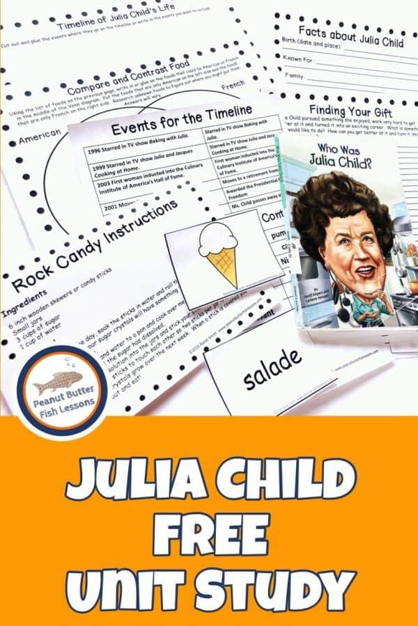 Free Julia Child Unit Study