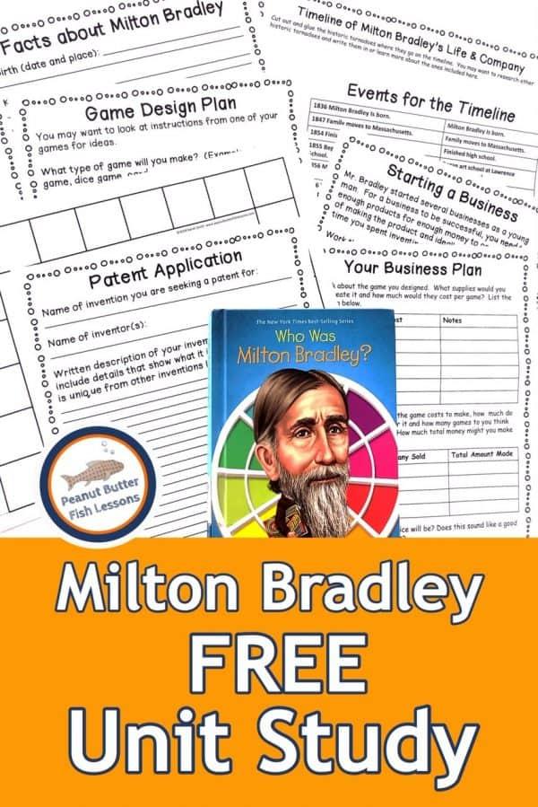Free MiltonBradley Unit Study