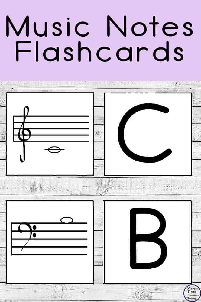 graphic relating to Free Printable Music Flashcards called Absolutely free Tunes Notes Flashcards - Homeschool Printables for Cost-free