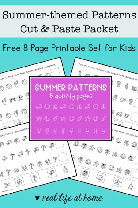 Free Summer Patterns Packet