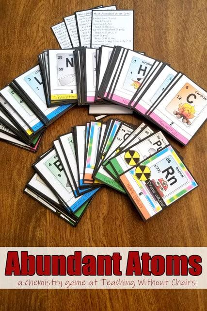 Atoms Chemistry Game