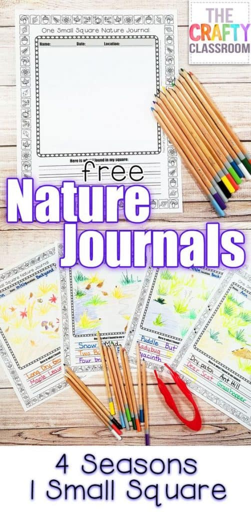 One Small Square Printable Nature Journal