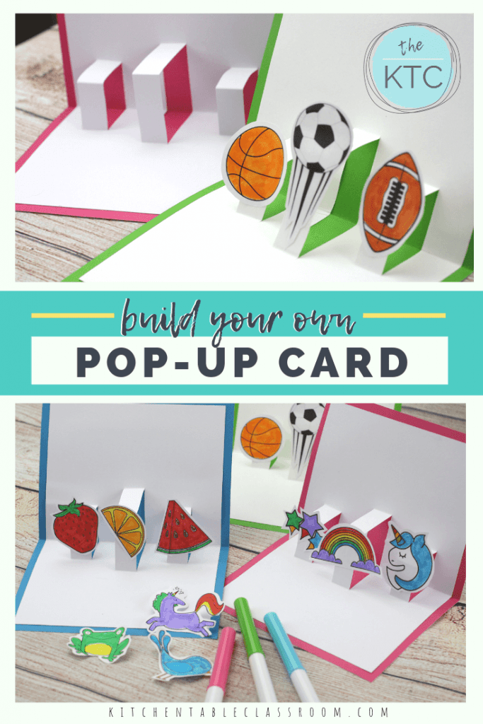 Free 3-D Pop-Up Card Template