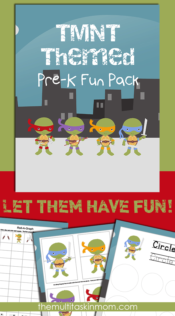 TMNT PreK Fun Pack